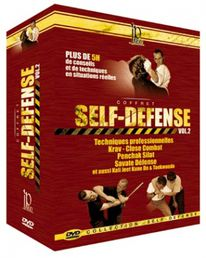 Self-Defense Vol. 2 DVD-paketti