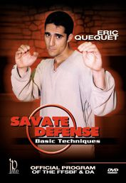 Savate Defense: Basic Techniques DVD