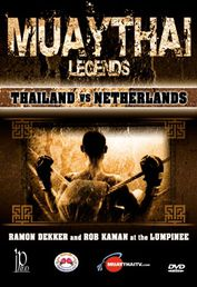 Muay Thai Legends - Thailand VS Netherland DVD