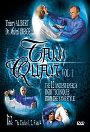 Taiji Quan Vol. 1 - The 12 Ancient Energy Fight Techniques from The Yang Style (Ympyrät 1-4) DVD