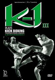 K-1 Rules Kick Boxing 2006 DVD