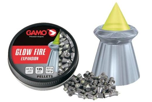 Ilma-aseluoti Gamo Glow Fire Expansion 4,5mm/0,51g, 125 kpl