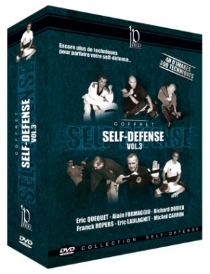 Self-Defense Vol. 3 DVD-paketti
