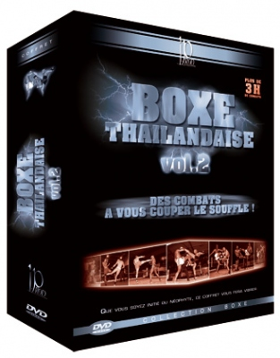 Thai Boxing Vol. 2 DVD-paketti