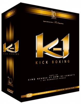 K-1 Rules Kick Boxing 2004-2006 DVD-paketti