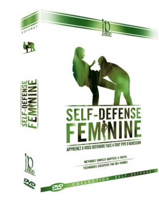 Self-Defense For Women DVD-paketti