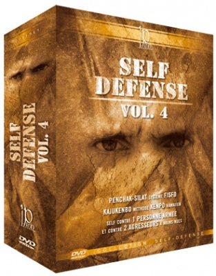 Self-Defense Vol. 4 DVD-paketti